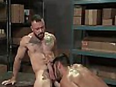 RagingStallion Hairy Muscle Hunk Boys Get Physical &amp Get Anal