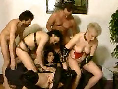 Grannies Group Orgy