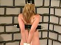 Stripped woman shows off in complete breast thraldom x video