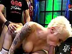 Nasty Mila Milan Double Penetrated and Creamed - German Goo Girls