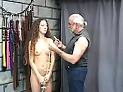 In nature&039s garb doll amazing fetish bondage extreme creampie compilaion scenes with old man