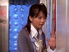 सींग का बना जापानी लड़की अविश्वसनीय, JAV वीडियो