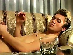 Mature gay porn movietures xxx London Solo Smoke & Stroke!