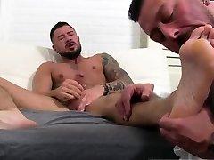 Gay hairy leg man body nude stiff first time Dolfs Foot
