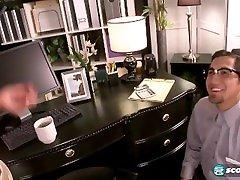 Amy Anderssen Fucking The MEGA TITS! Office Hottie!