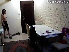 तुर्की युवा लड़की के स्तन काट दिया कैमरा