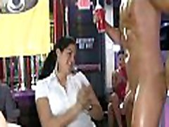 Pratty honey gets drilled in front of her friends.