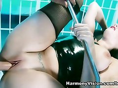 Paige Turnah in Gyno Chair Groping - HarmonyVision