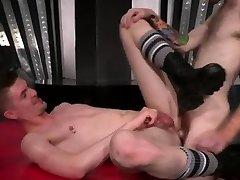 Fisting male movie gay Slim and sleek ginger hunk Seamus