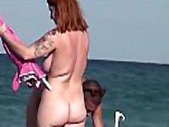 Spy cam on nudist beach!