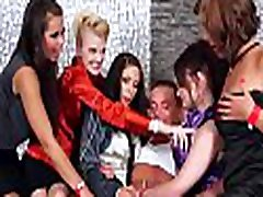 Whores with unfathomable throats show their skills at a sex party
