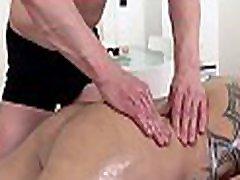 Gay stud is delighting masseur&039s thick male weenie