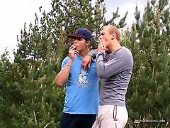 Roma and Archi Outdoor Smoke xxxxci vibio! - Roma and Archi Outdoor Smoke gerogette neale! - Boys-Smoking