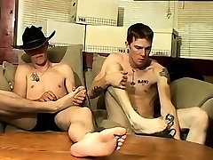 Teen boy licking boys bare feet movie and gay xxx Cowboy