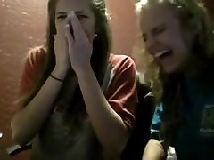 Two rip girlagirl 16 scoula girls reacting to CAKE FARTS video