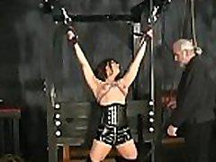Bbw hottie severe stimulation in complete bondage scenes