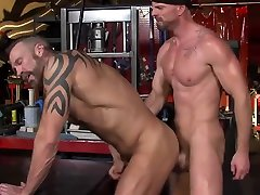 Horny gay clip with Men, Hunks scenes