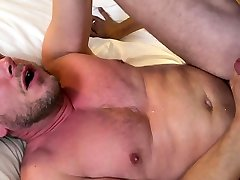 Bear plowing tight ass with his thick rod
