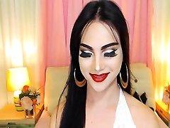 Pretty sauna fileli corap Babe Masturbating On Webcam