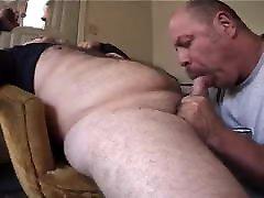 Bear sucking a nice cock