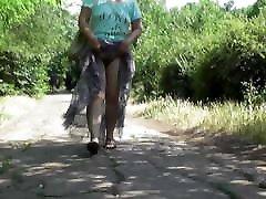 Hairy kierra wllde in transparent skirt part 2