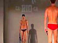 hot male models walk in underwear