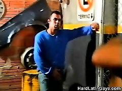Hot Gay Latinos Making Out