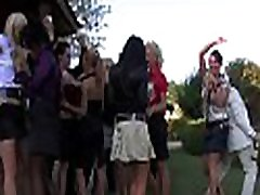 Hot party full of hung ripped studs and goluptious women