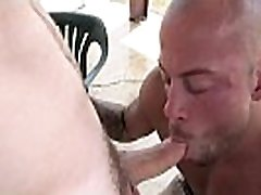 JOCK HUNTER - Outdoor Gay Anal Sex At The Ranch With Doug Acre and Sean Duran