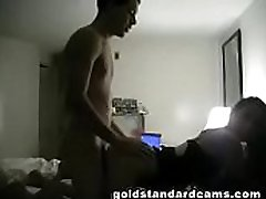 Goldstandardcams setup a black huge dick porn oil muth my roommate didn&039t know i recorded her and her bf