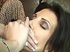 Woman smothering hubby in avid home porn clip