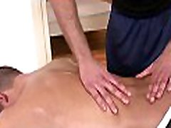 Steamy hot massage session for concupiscent got play mate fellow