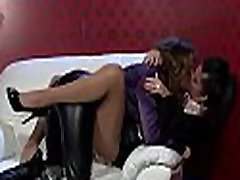 Hardcore lesbo bdsm action with steaming thrashing action
