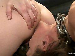 Lesbian Slave Training Ariel XFeatured Trainer-Aiden Starr - TheTrainingofO
