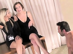 Beautiful mistresse gets her ass licked by lover