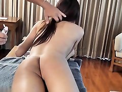 Asian shemale fetish with massage