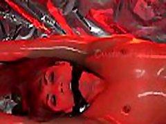 strah, vezan model praženi in izrezali nihalo-bloodied in umirajo short version