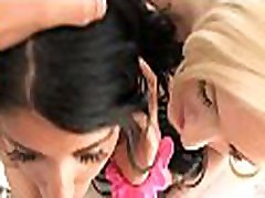 Hot teen sweethearts engulf and ride hard dong at short hairy russian mom casting