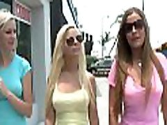 Three gals make a blued xxx threesome that is fun to watch