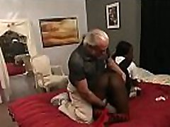 Rough scenes of home bondage with naked babe with shaved cum-hole