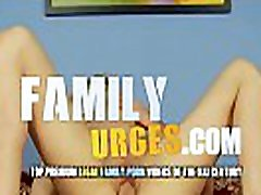 Skinny Milf Cock Riding dad with two daughters - FamilyUrges.com