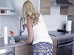 Mom catches tube porn vr video masturbating & fucks him