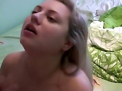Horny amateur busty, eat tits, flashing sex clip