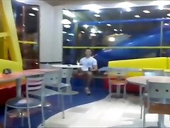masturbating in fast food restaurant