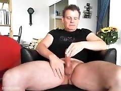 Masturbation with cumshot short
