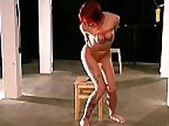 Intense woman bawdy cleft petitie blonde teen with tit bondage scenes