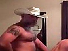 Daddy Cowboy Fucking His Boy