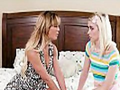 My Mom&039s older friend lick my pussy! - Cherie DeVille and Chloe Cherry