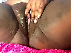 Ebony jades mfc slut watches milf goth gay mom and plays with her tight chocolate cunt.