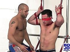 Leo Forte tickles wwwsxxx comxx Phoneix and makes him suck his